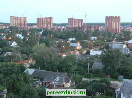 Схема проезда в город домодедово